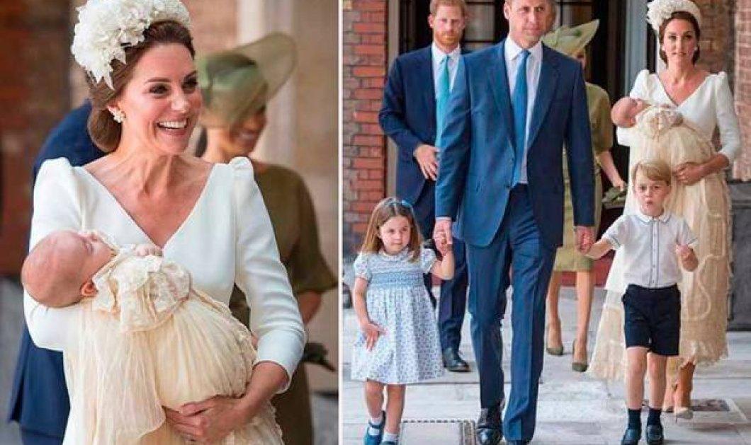 Αυτές είναι οι πρώτες επίσημες φωτογραφίες από την βάπτιση του μικρού πρίγκιπα Louis! Μόλις δόθηκαν στη δημοσιότητα από το παλάτι - Κυρίως Φωτογραφία - Gallery - Video