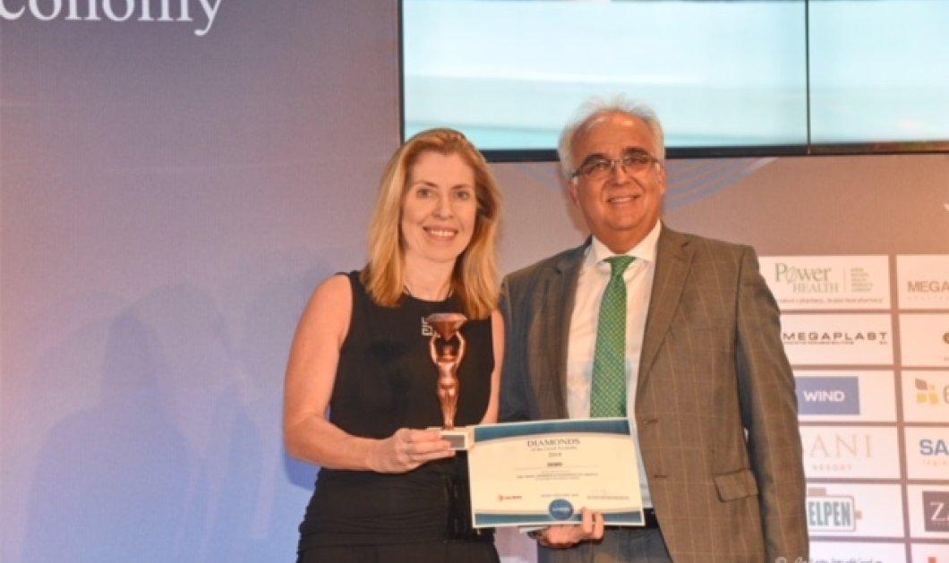 Για άλλη μια χρονιά η ελληνική φαρμακοβιομηχανία DEMO ABEE βραβεύτηκε στα «Diamonds of the Greek Economy 2018» - Κυρίως Φωτογραφία - Gallery - Video