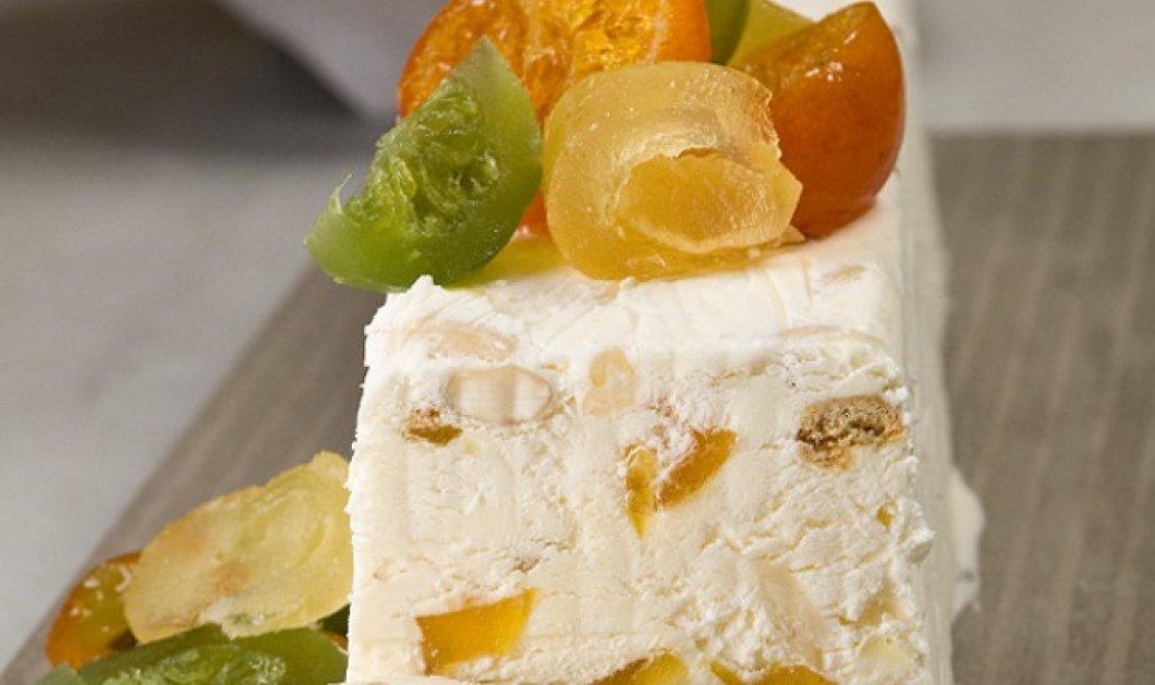Φτιάξτε παγωμένο κορμό (σεμιφρέντο) με τις οδηγίες του Στέλιου Παρλιάρου - Κυρίως Φωτογραφία - Gallery - Video