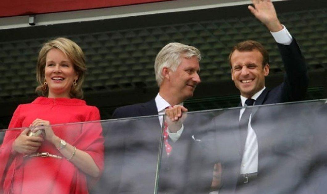 Παρά την παρουσία Βασιλιά & Βασίλισσας του Βελγίου κέρδισαν οι Γάλλοι στα ημιτελικά του Μουντιάλ- Καταχαρούμενος ο Μακρόν (ΦΩΤΟ) - Κυρίως Φωτογραφία - Gallery - Video