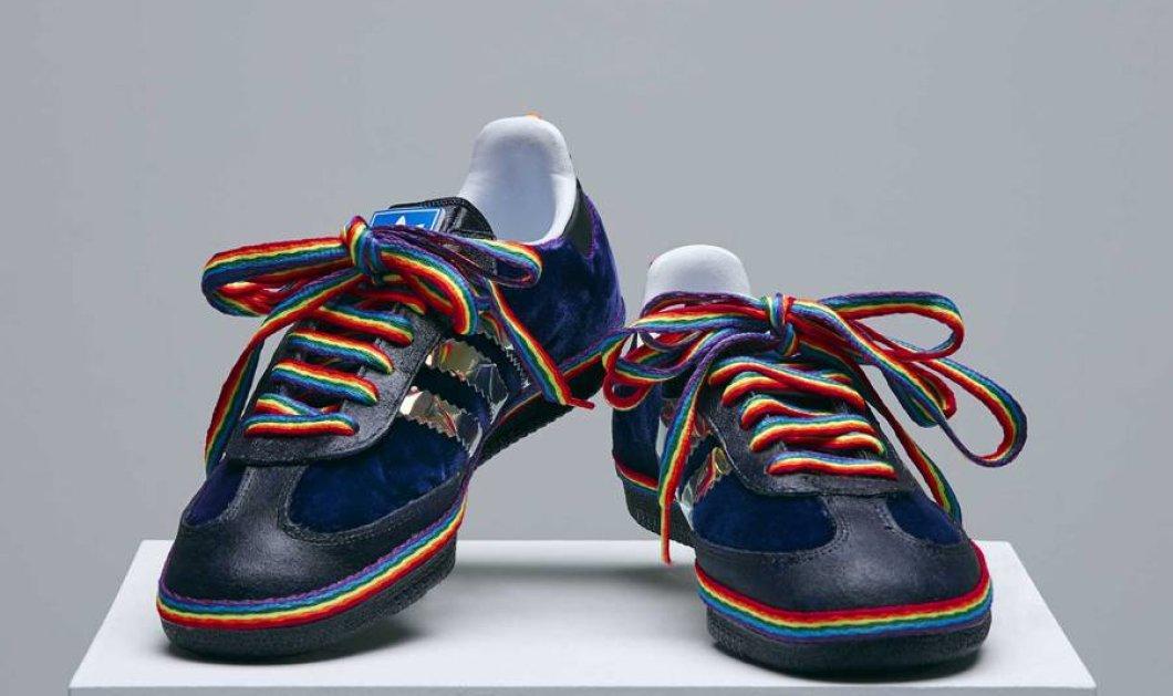 Αυτά είναι τα αθλητικά παπούτσια με σχεδιαστές τη Κέιτ Μος, τη Ναόμι Κάμπελ και τον Φαρέλ    - Κυρίως Φωτογραφία - Gallery - Video