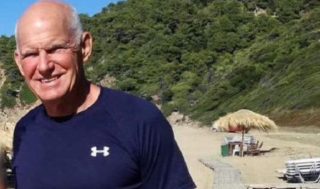 Ο Γιώργος Παπανδρέου με γκλίτσα έτοιμος για αναρρίχηση- Τον αγκαλιάζουν θαυμάστριές του (ΦΩΤΟ)  - Κυρίως Φωτογραφία - Gallery - Video