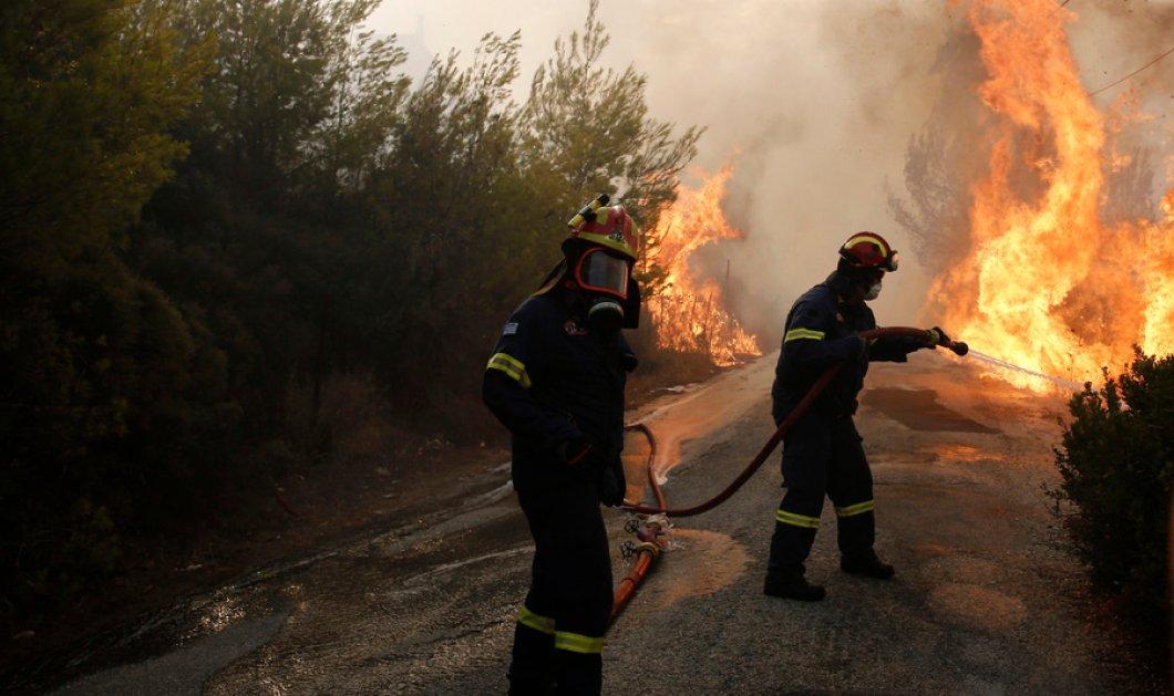 Φωτιά στην Αττική: Το video απο ψηλά Τούρκου δημοσιογράφου που κόβει την ανάσα  - Κυρίως Φωτογραφία - Gallery - Video