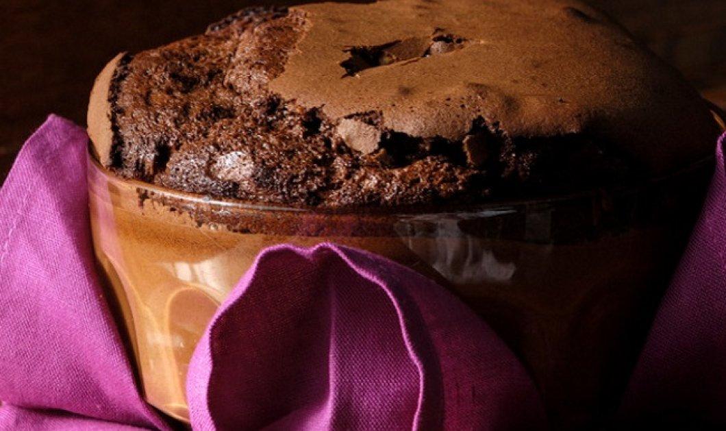 Εξαιρετική ψητή μους σοκολάτα από τον Στέλιο Παρλιάρο - Κυρίως Φωτογραφία - Gallery - Video