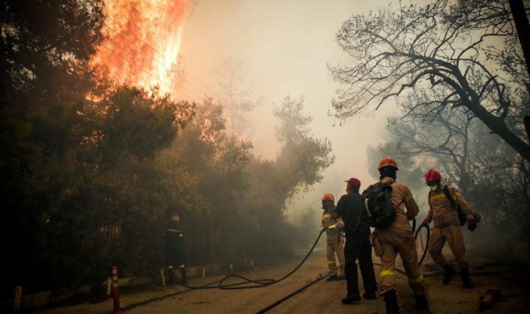Η επίσημη ενημέρωση από την Πυροσβεστική για τις πυρκαγιές- 49 τα επιβεβαιωμένα θύματα- Βοήθεια από Κύπρο & Ισπανία (ΒΙΝΤΕΟ) - Κυρίως Φωτογραφία - Gallery - Video