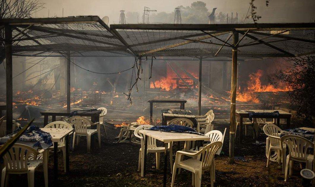 Πυρκαγιές στην Αττική: Βίντεο από ελικόπτερο αποκαλύπτει το μέγεθος της καταστροφής στη Ραφήνα  - Κυρίως Φωτογραφία - Gallery - Video