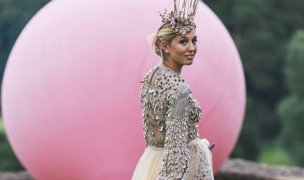 Olympia Greece: Η δικιά μας μικρή ξανθιά Πριγκίπισσα Ολυμπία με μαγιό Tory Burch, τα σπάει...  - Κυρίως Φωτογραφία - Gallery - Video
