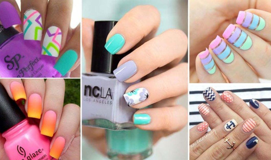 30 όμορφα σχέδια στα νύχια για τον Ιούλιο 2018  - Κυρίως Φωτογραφία - Gallery - Video
