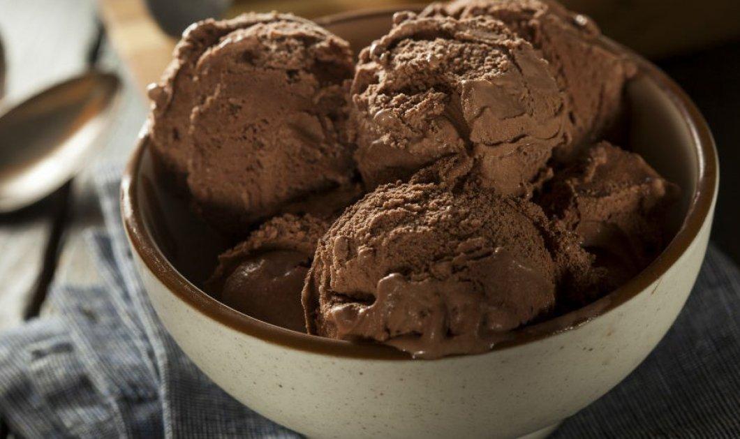 Φάτε άφοβα παγωτό με μαύρη σοκολάτα - Δείτε που κάνει καλό - Κυρίως Φωτογραφία - Gallery - Video
