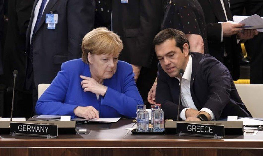 Μέρκελ σε Τσίπρα: Συμπάσχω σιωπηρά στους Έλληνες φίλους μας - Είμαστε εδώ να βοηθήσουμε  - Κυρίως Φωτογραφία - Gallery - Video