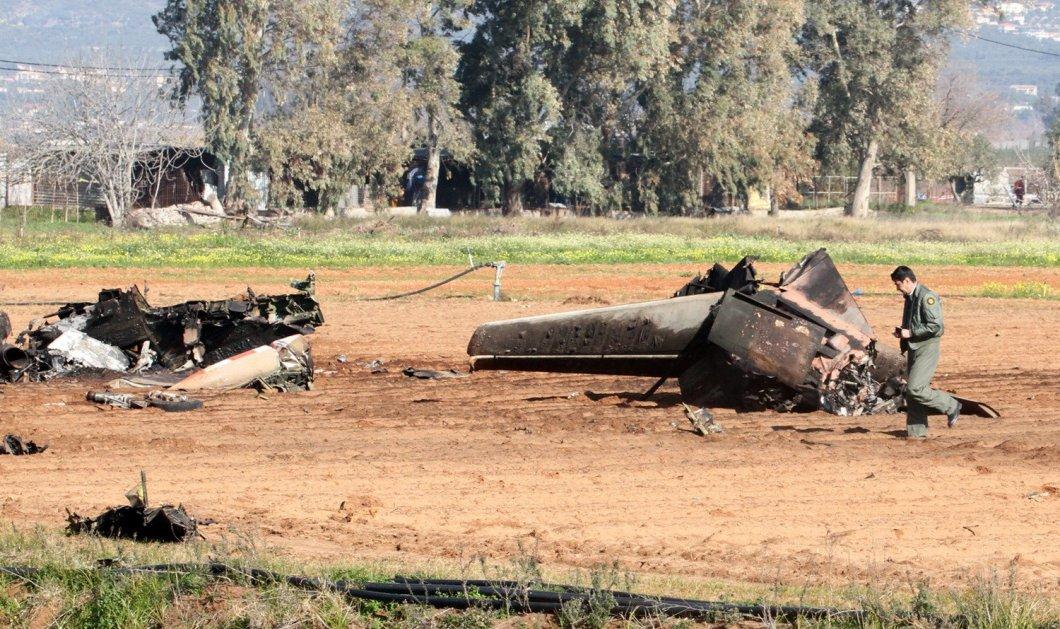 Έκτακτη είδηση: Έπεσε αεροπλάνο της Πολεμικής Αεροπορίας στην Σπάρτη - Νεκρός ο κυβερνήτης - Κυρίως Φωτογραφία - Gallery - Video