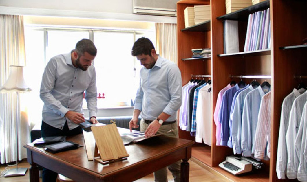 Αποκλ. – Όλα τα αγόρια γνωρίστε το Mezoura.com: Κάντε live 3D πρόβα σε πουκάμισα & κοστούμια – Ράψτε στα μέτρα σας από τον Γιάννη & τον Νίκο - Κυρίως Φωτογραφία - Gallery - Video
