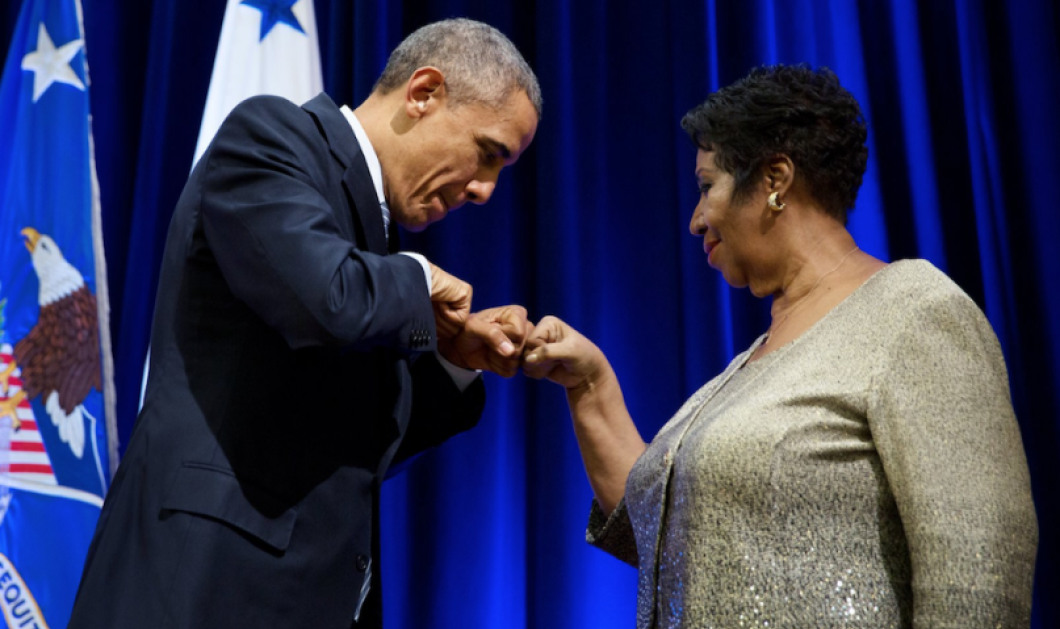 Αρίθα Φράνκλιν: Όταν έκανε τον Μπαράκ Ομπάμα να κλάψει (Βίντεο) - Κυρίως Φωτογραφία - Gallery - Video