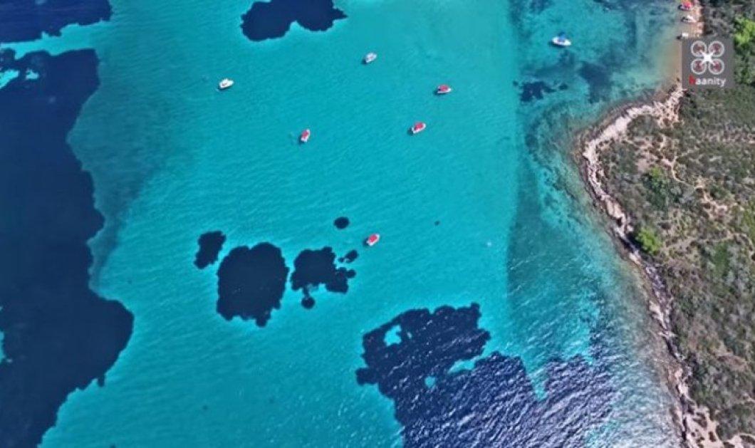 Blue Lagoon: Όταν η Καραϊβική «υποκλίνεται» στη Χαλκιδική (Βίντεο) - Κυρίως Φωτογραφία - Gallery - Video