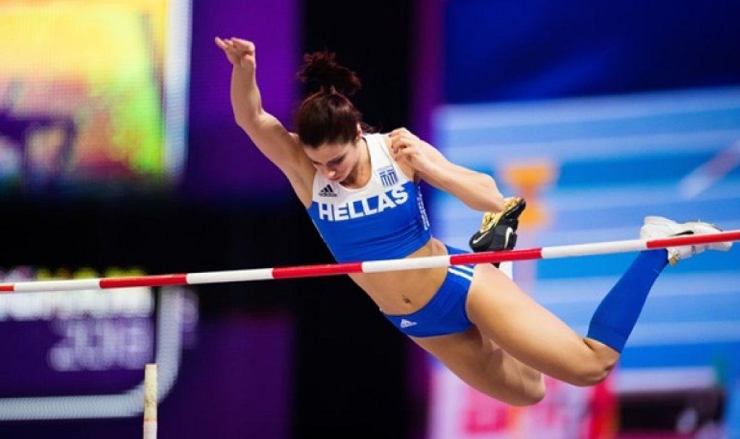 Τριπλή «γαλανόλευκη» περηφάνια στο Ευρωπαϊκό Πρωτάθλημα: Στεφανίδη, Κυριακοπούλου, Πόλακ προκρίθηκαν στον τελικό του επί κοντώ (Φωτό) - Κυρίως Φωτογραφία - Gallery - Video