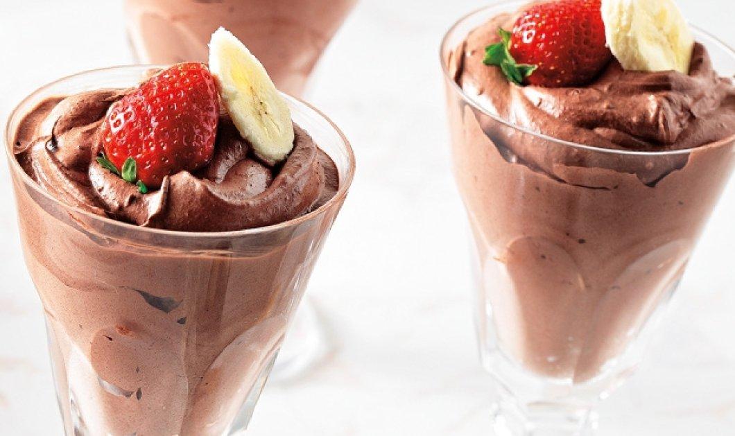 Απόλαυση χωρίς τύψεις: Υπέροχη Μους σοκολάτας χωρίς ζάχαρη από την Αργυρώ Μπαρμπαρίγου  - Κυρίως Φωτογραφία - Gallery - Video