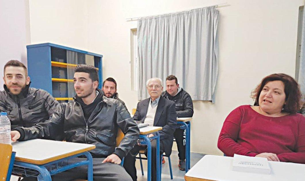 Είναι φοιτητής στα 84 του μαζί με τον εγγονό του: Μπήκε πρώτος στο Πανεπιστήμιο Κρήτης (Φωτό) - Κυρίως Φωτογραφία - Gallery - Video