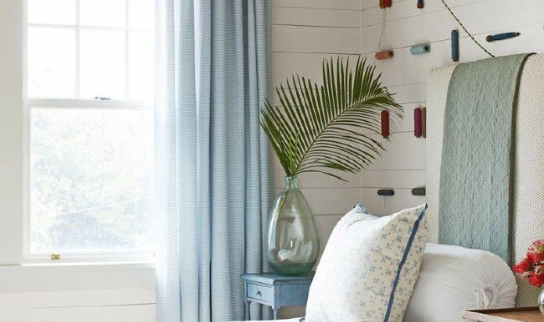 Μπλε σαν τον ουρανό: 10 υπνοδωμάτια με το χρώμα του καλοκαιριού (Φωτό) - Κυρίως Φωτογραφία - Gallery - Video