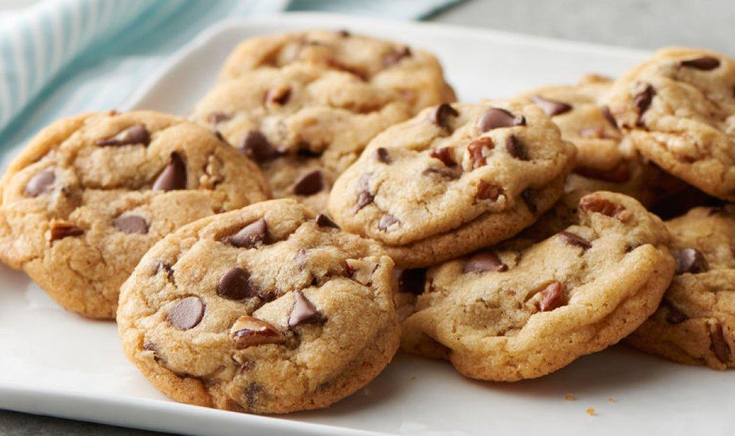 Τα πιο εθιστικά cookies που έχετε δοκιμάσει με λιωμένη πραλίνα από την Ντίνα Νικολάου - Κυρίως Φωτογραφία - Gallery - Video