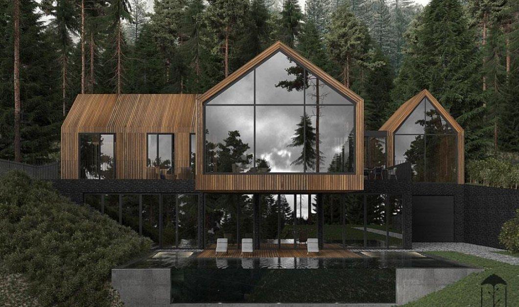 Θαυμάστε την αρχιτεκτονική δημιουργία της Dinara Yusupova: Απίθανες λήψεις από ξύλινο σπίτι σε δάσος της Ουκρανίας (ΦΩΤΟ)   - Κυρίως Φωτογραφία - Gallery - Video