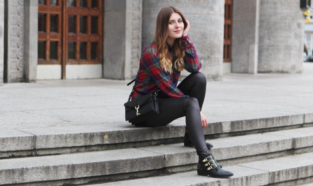 40 υπέροχοι συνδυασμοί με καρό ρούχα για κάθε περίσταση που θα σας κάνουν πιο στιλάτες από ποτέ! (ΦΩΤΟ)   - Κυρίως Φωτογραφία - Gallery - Video