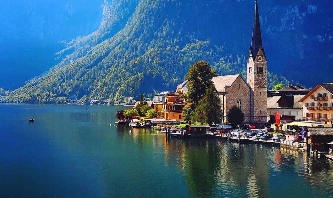 Χάλστατ στην Αυστρία: Μια μαγική λιμνούπολη με τους κύκνους και τα κτίρια να καθρεπτίζονται - Παραμυθένιο τοπίο (Φωτό&Βίντεο) - Κυρίως Φωτογραφία - Gallery - Video