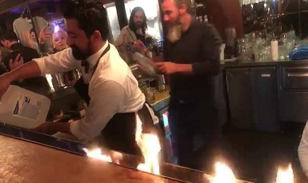 Παρολίγον τραγωδία στο εστιατόριο του διάσημου Salt Bae:Τουλάχιστον 5 τραυματίες μεταξύ αυτών και ένας Έλληνας - Πήραν φωτιά (φώτο-βίντεο) - Κυρίως Φωτογραφία - Gallery - Video