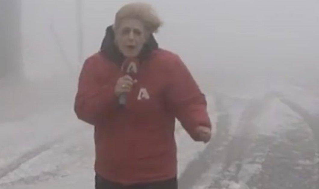Καρπενήσι: Ρεπόρτερ του Alpha πάει στο χιονοδρομικό κέντρο και ειλικρινά υποφέρει από το κρύο και την κακουχία (βίντεο) - Κυρίως Φωτογραφία - Gallery - Video