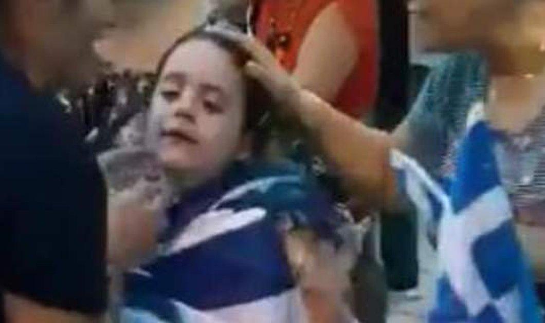 Επεισόδια στη Θεσσαλονίκη -τα 4 βίντεο που ανέβασε το ρωσικό κανάλι : Παιδιά κλαίνε - λιποθυμίες από τα χημικά  - Κυρίως Φωτογραφία - Gallery - Video