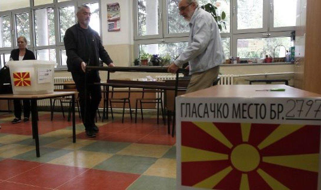 Άνοιξαν οι κάλπες στα Σκόπια για το κρίσιμο δημοψήφισμα -«Κλειδί» η συμμετοχή (φώτο-βίντεο) - Κυρίως Φωτογραφία - Gallery - Video