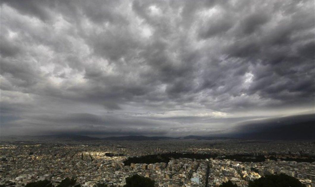 Καιρός: Αυξημένες νεφώσεις, σποραδικές καταιγίδες και τοπικές βροχές σε πολλές περιοχές - Μικρή πτώση της θερμοκρασίας - Κυρίως Φωτογραφία - Gallery - Video
