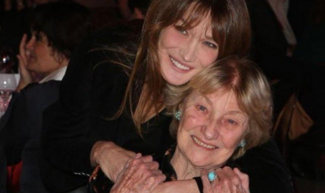 Μια απίθανη φωτογραφία της 88χρονης μαμάς της με μαγιό ανέβασε η Κάρλα Μπρούνι - Χαμόγελο και αισιοδοξία - Κυρίως Φωτογραφία - Gallery - Video