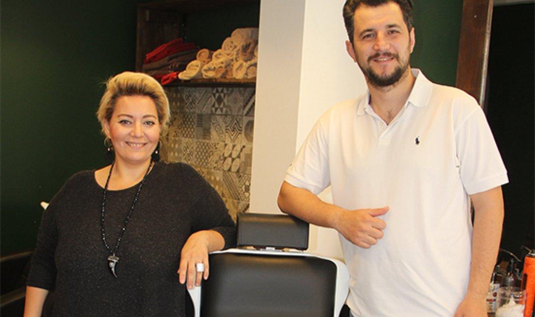 Τopwoman η Mαριάννα: Ερωτεύτηκε στην Κωνσταντινούπολη και τώρα είναι η πρώτη μπαρμπέρισσα της Τουρκίας - Κυρίως Φωτογραφία - Gallery - Video