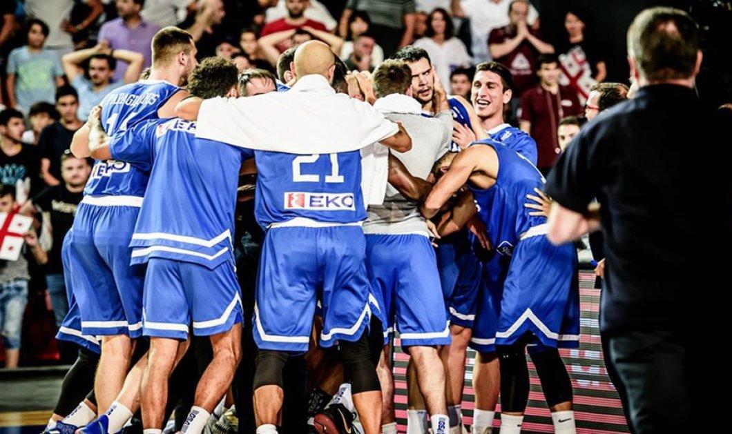 Εθνική Ελλάδος: Πρόκριση στο Παγκόσμιο Κύπελλο με buzzer beater - 86-85 τη Γεωργία (Βίντεο) - Κυρίως Φωτογραφία - Gallery - Video
