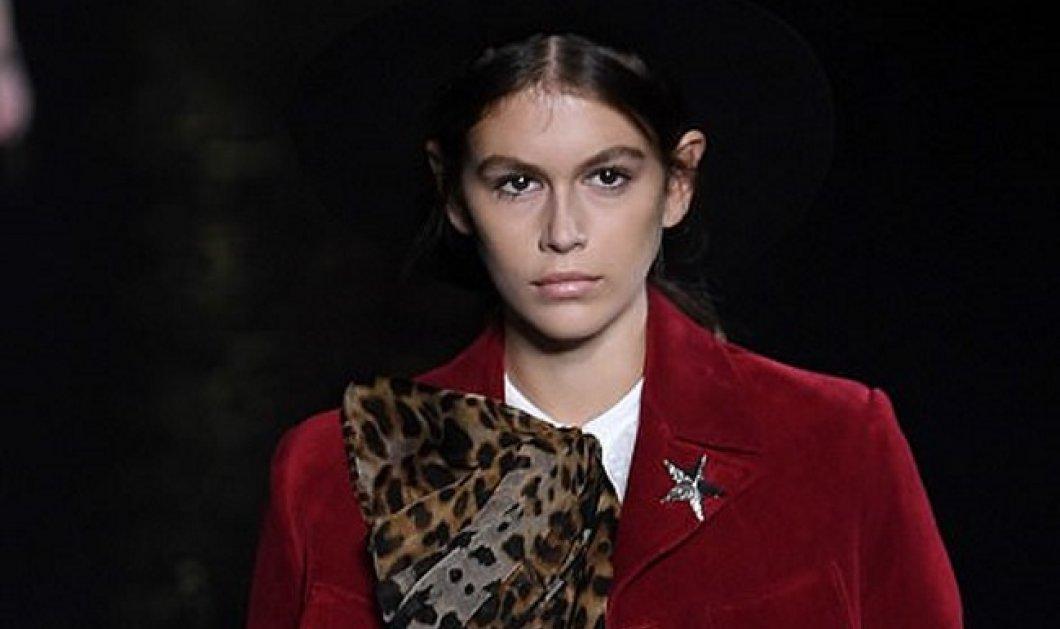 Top woman η Κάια Γκέρμπερ: Η 17χρονη κόρη της Σίντι Κρόφορντ μάγεψε τον κόσμο της μόδας - Σόι το βασίλειο (Φωτό) - Κυρίως Φωτογραφία - Gallery - Video