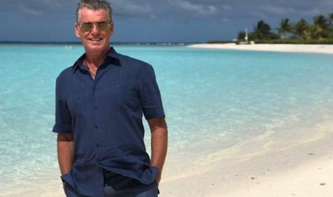 Η έκπληξη του Πιρς Μπρόσναν: Σε ποιο παραδεισένιο νησί πήγε τη γυναίκα του για τα γενέθλιά της (Φωτό) - Κυρίως Φωτογραφία - Gallery - Video