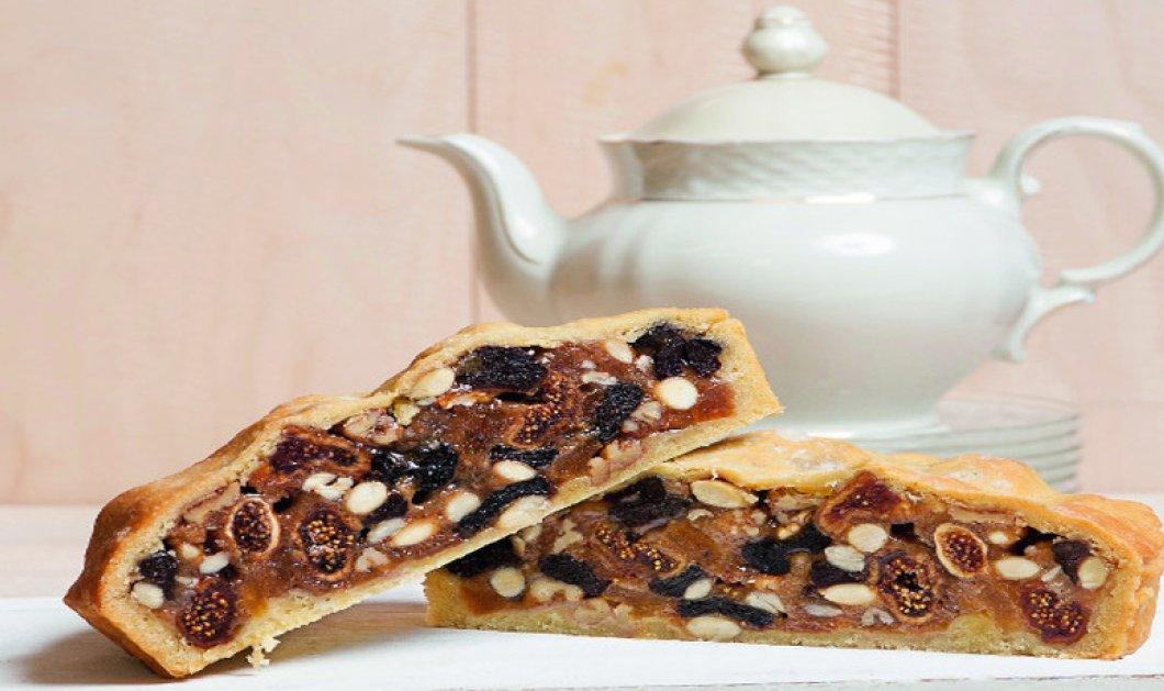 Πίτα με ξερά φρούτα και μέλι: Πλούσια σε πηγές ενέργειας, ιδανική ακόμα κι ως πρωινό από τον Στέλιο Παρλιάρο - Κυρίως Φωτογραφία - Gallery - Video