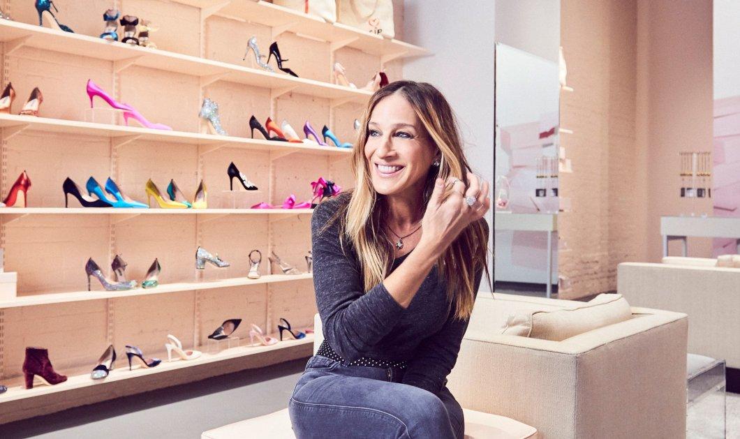 5 ώρες στην ουρά εκατοντάδες γυναίκες για να ψωνίσουν παπούτσια στο πρώτο κατάστημα της Σάρα Τζέσικα Πάρκερ (φώτο) - Κυρίως Φωτογραφία - Gallery - Video