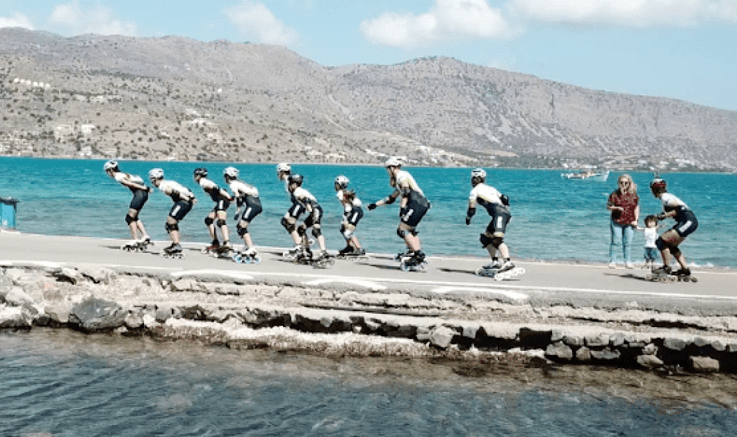 Good news Τα κατάφεραν! - Ολοκληρώθηκε ο γύρος της Κρήτης με πατίνια! Δείτε φώτο- βίντεο - Κυρίως Φωτογραφία - Gallery - Video