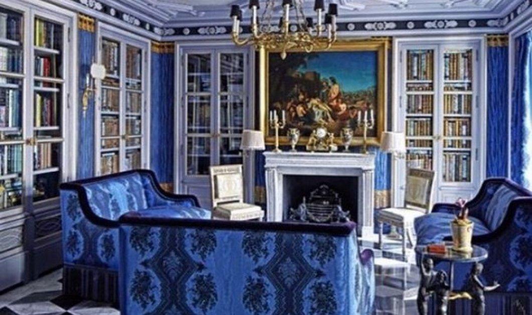 Ο μαξιμαλισμός στη διακόσμηση is back: Αυτή η μπλε αυτοκρατορική βιβλιοθήκη στη Σεβίλλη το «φωνάζει» (Φωτό) - Κυρίως Φωτογραφία - Gallery - Video