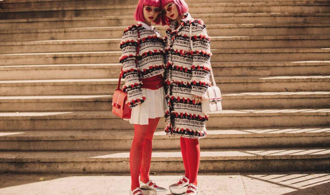 Οι καλύτερες Street Style εμφανίσεις των γυναικών που πήγαν να δουν τις επιδείξεις στο Paris Fashion Week - Κυρίως Φωτογραφία - Gallery - Video