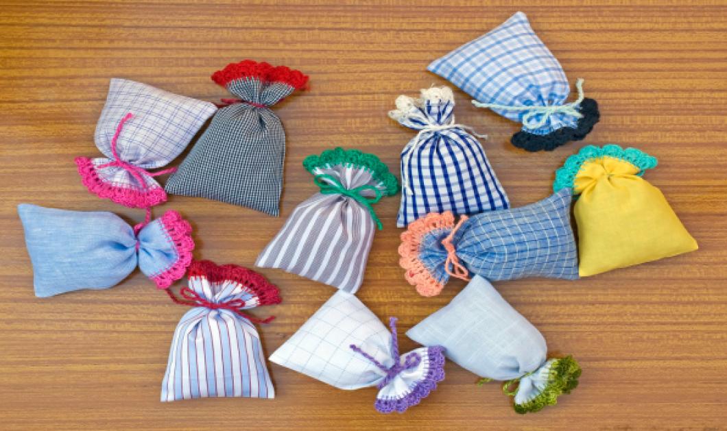Σπύρος Σούλης: Φτιάξτε αρωματικά πουγκιά για τα συρτάρια σας μόνο με 3 υλικά - Κυρίως Φωτογραφία - Gallery - Video