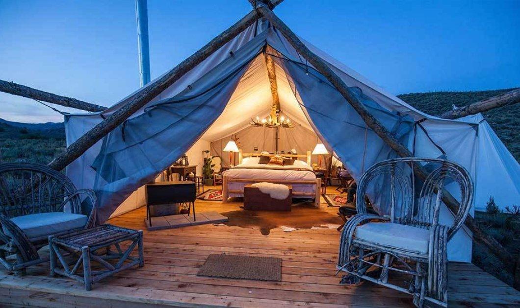 Φορητά ξενοδοχεία - H νέα μόδα στον τουρισμό - Κυρίως Φωτογραφία - Gallery - Video