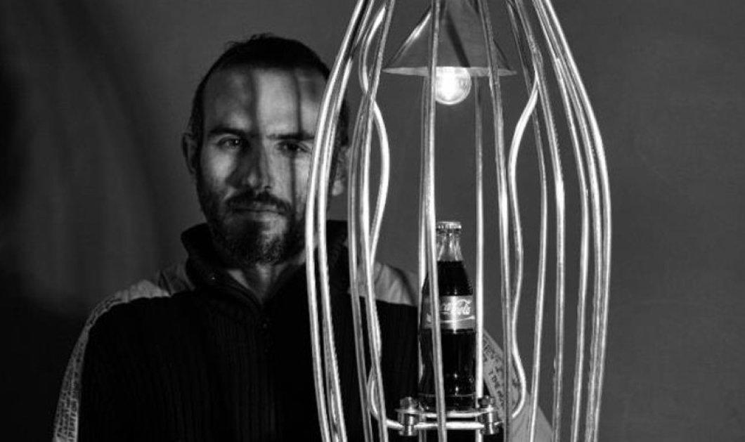 Made in Greece οι εικαστικές φωτεινές εγκαταστάσεις Roumelight του Βασίλη Ρουμελιώτη: Ο δίσκος της Φαιστού φωτιζόμενος σε ρόδες ποδηλάτου το νέο του εντυπωσιακό έργο  - Κυρίως Φωτογραφία - Gallery - Video