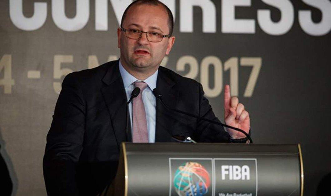 Σοκ στο παγκόσμιο μπάσκετ: «Έφυγε» ξαφνικά στα 51 ο Πάτρικ Μπάουμαν, Γενικός Γραμματέας της FIBA - Κυρίως Φωτογραφία - Gallery - Video