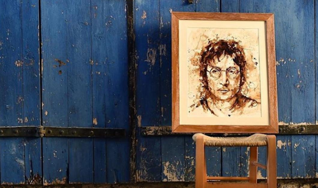 Εκπληκτικές εικόνες: Κύπρια καλλιτέχνιδα φτιάχνει απίθανα έργα τέχνης με.. καφέ!  - Κυρίως Φωτογραφία - Gallery - Video
