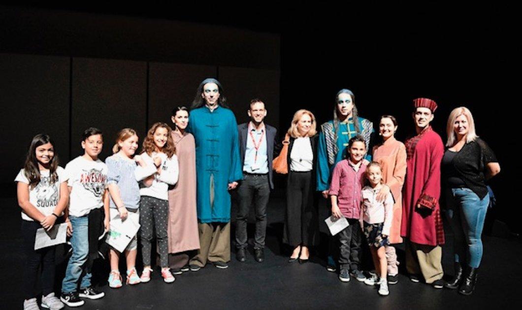 """Ο όμιλος ΕΛΠΕ στηρίζει την εναλλακτική σκηνή της Εθνικής Λυρικής Σκηνής στο έργο """"Το αηδόνι του Αυτοκράτορα""""  - Κυρίως Φωτογραφία - Gallery - Video"""