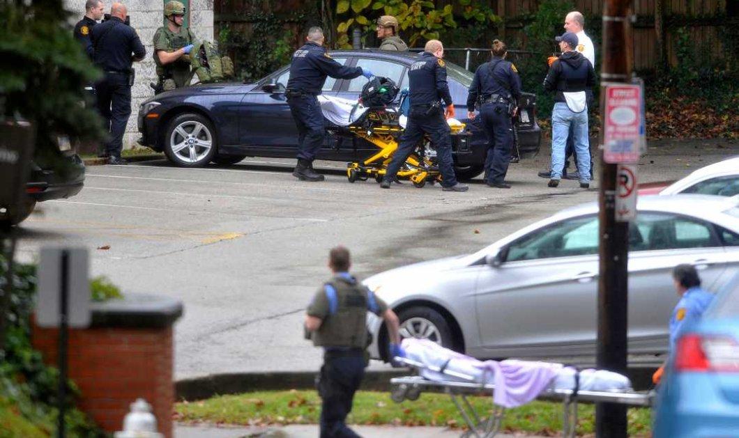 """11 νεκροί από το μακελειό στις ΗΠΑ - Ο νεοναζί φώναζε: """"Εβραίοι θα σας σκοτώσω"""" - 29 κατηγορίες απαγγέλθηκαν στον δράστη της σφαγής (φώτο-βίντεο) - Κυρίως Φωτογραφία - Gallery - Video"""