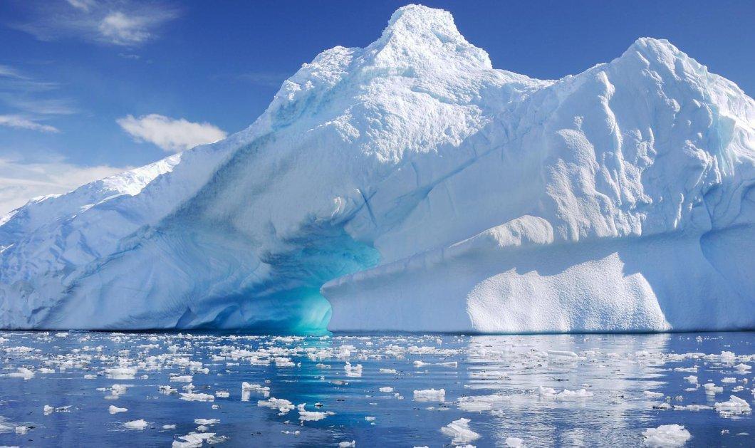 NASA: Φωτογράφισε το απόλυτα καλοσχηματισμένο παγόβουνο στην Ανταρκτική (Φωτό) - Κυρίως Φωτογραφία - Gallery - Video