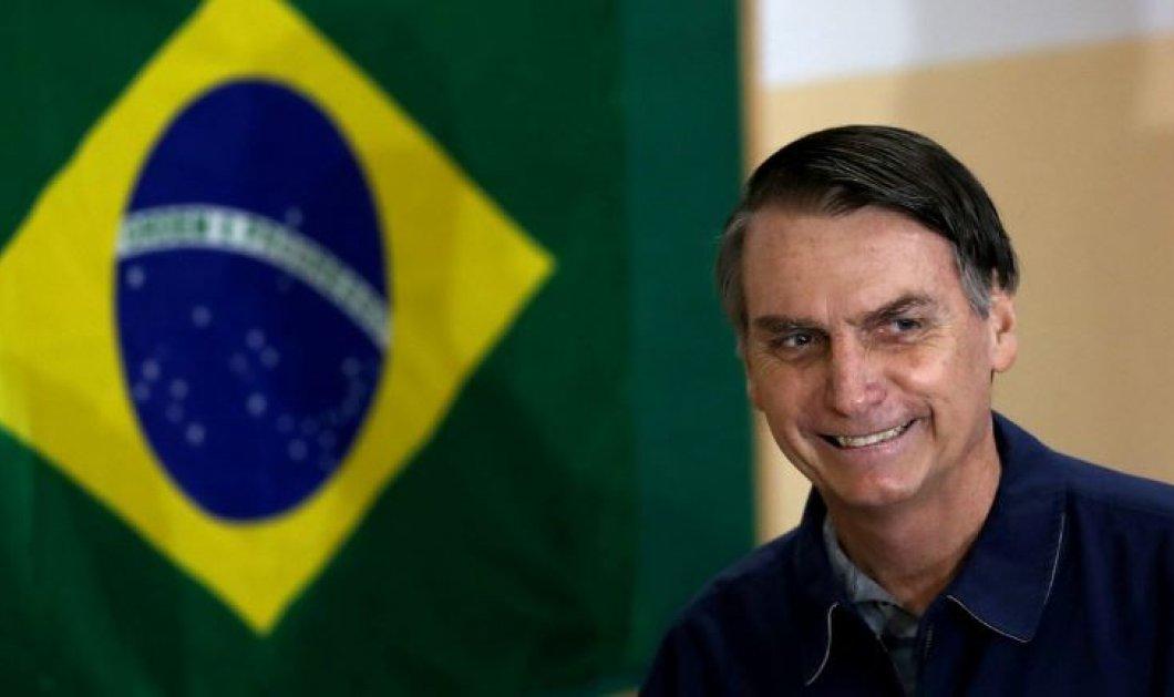 Πρόεδρος της Βραζιλίας ο ακροδεξιός Ζαΐχ Μπολσονάρου: Υμνητής της δικτατορίας, μισογύνης, ομοφοβικός και ρατσιστής (Φωτό & Βίντεο) - Κυρίως Φωτογραφία - Gallery - Video